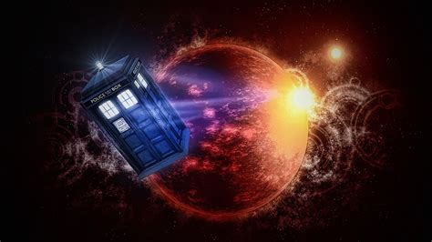 Doctor Who TARDIS Wallpapers for Windows 10