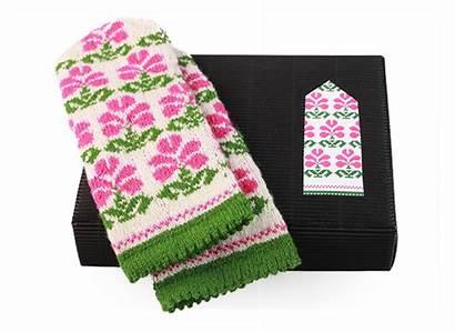 Knitting Pattern Diy Mittens Latvian Kit