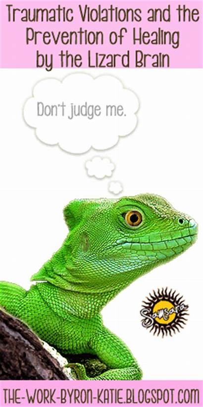 Brain Lizard Healing Violations Byron Prevention Traumatic