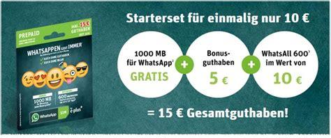 whatsapp sim aktion mit whatsapp flat ohne guthaben