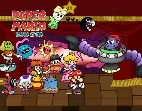 paper mario fan game paper mario wae chapter 8 by renleixue on deviantart