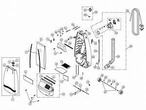 Riccar R800 Parts  U0026 Vacuum Repair Diagrams