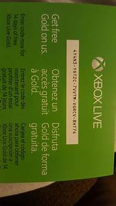 14 Day Xbox Live Code Gaming Pinterest Xbox Live