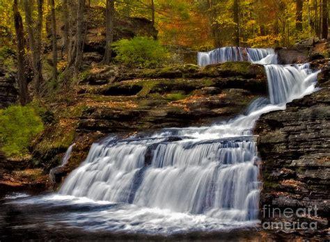 waterfalls   fall photograph  susan candelario