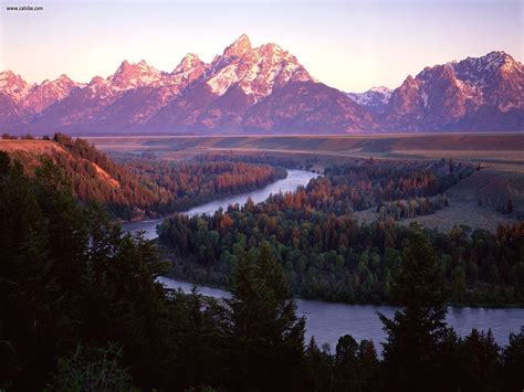 nature grand tetons  snake river wyoming picture nr