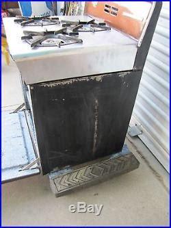 vintage pan pacific  princess rv travel trailer propane