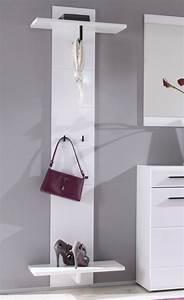 Garderobenpaneel Weiß Matt : deon garderobenpaneel paneel wei mdf hochglanz fronten ~ Frokenaadalensverden.com Haus und Dekorationen