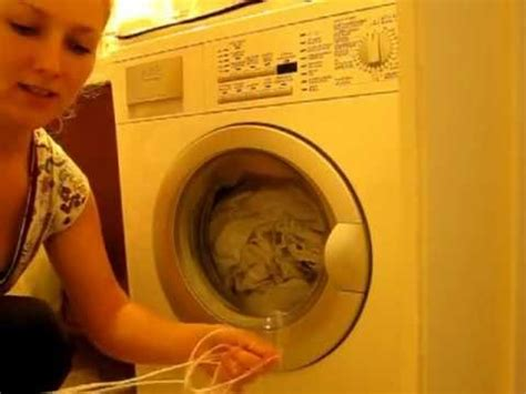 open blocked washing machine door   string