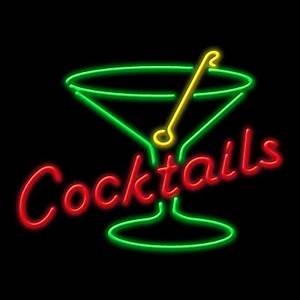 Neon Cocktail Neon Sign NEON & SIGNS