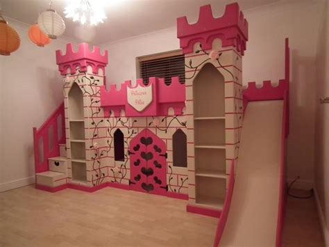 Elaborate Princess Castle Bed