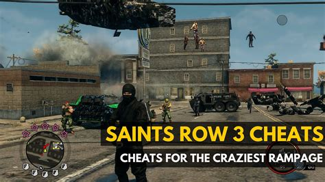 Saints Row 3 Cheats To Get Your Rampage On  Gadget Review