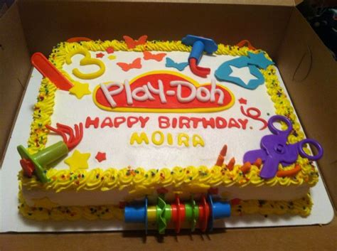 play doh cake 1000 ideas about 3rd birthday cakes on 3 6639