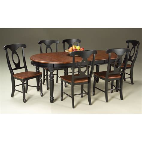 furniture kitchen tables a america isles solid wood oval dining table with