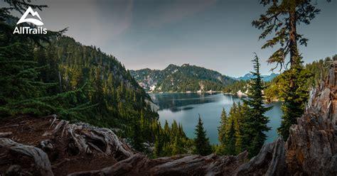 snoqualmie pass alpine washington wilderness lakes map alltrails area trails near parks