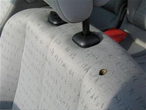 trou cigarette siege auto comment reparer trou de cigarette dans siege voiture