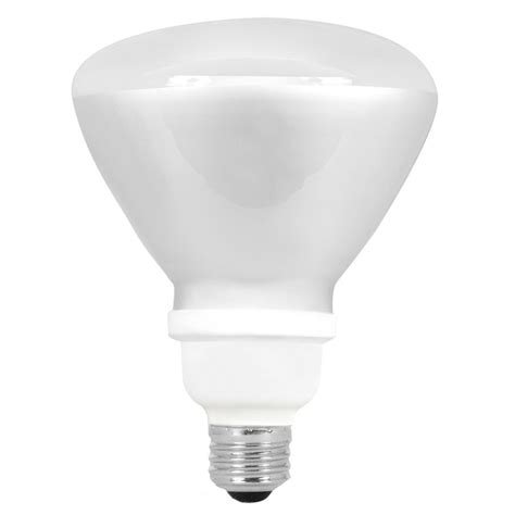shop utilitech 18 watt 75w br40 medium base bright white