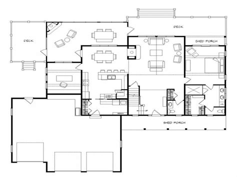 small house floor plans with basement lake house floor plan lake house plans walkout basement