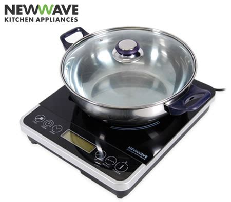 newwave portable induction cooktop hot plate cooker crazy sales