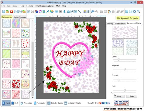 birthday cards making online free greeting card maker best business cards