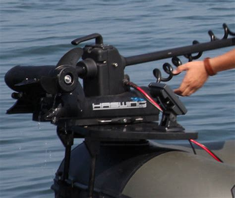 Inflatable Boat Fish Finder by Inflatable Boat Bow Mount Platform For Trolling Motor Fish
