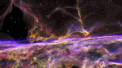 Hubble Nebula Telescope Space Veil Nasa Stunning