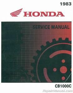 Honda Cb1000c 1983 Motorcycle Service Manual