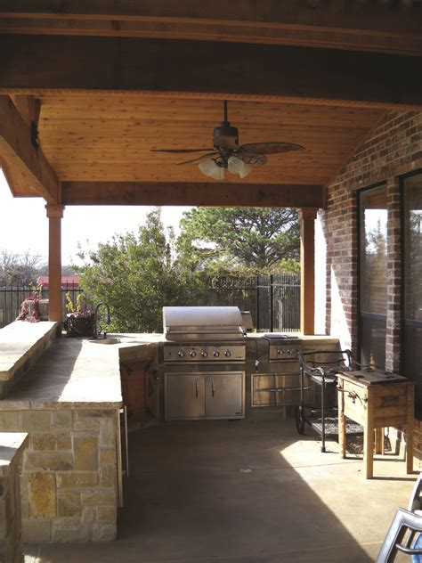 rustic outdoor kitchen design archadeck outdoor living
