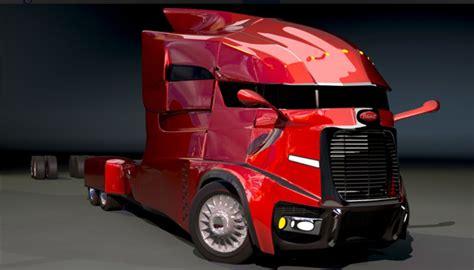 Future Truck Concepts by Futuristic Peterbilt Amazing And Cool Big Rig Trucks