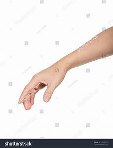Male Hand And Arm Reaching For Something Stock Photo ...