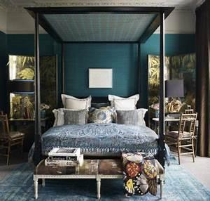 Déco Chambre Bleu Canard : chambre bleu canard 30 id es d 39 am nagement ne pas manquer ~ Melissatoandfro.com Idées de Décoration