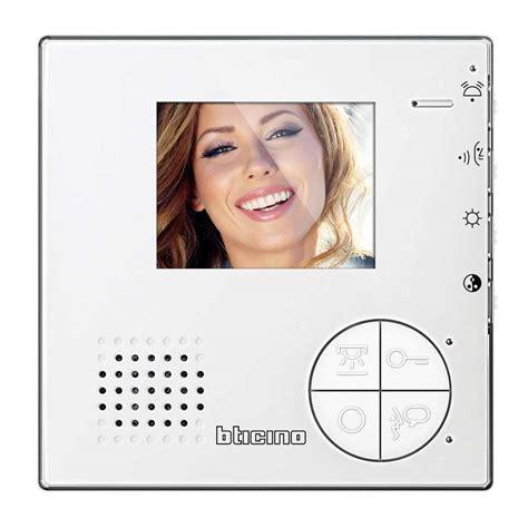 Videocitofono Bticino Swing by Classe 100 Videocitofono E Citofono 2 Fili Bticino