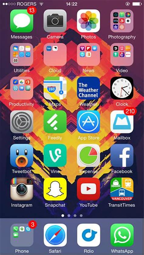 iphone home screen layout ideas iphone 6 home screen