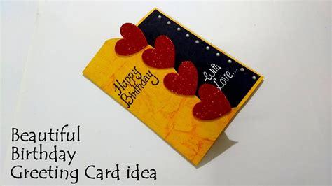 Beautiful Birthday Greeting Card Idea
