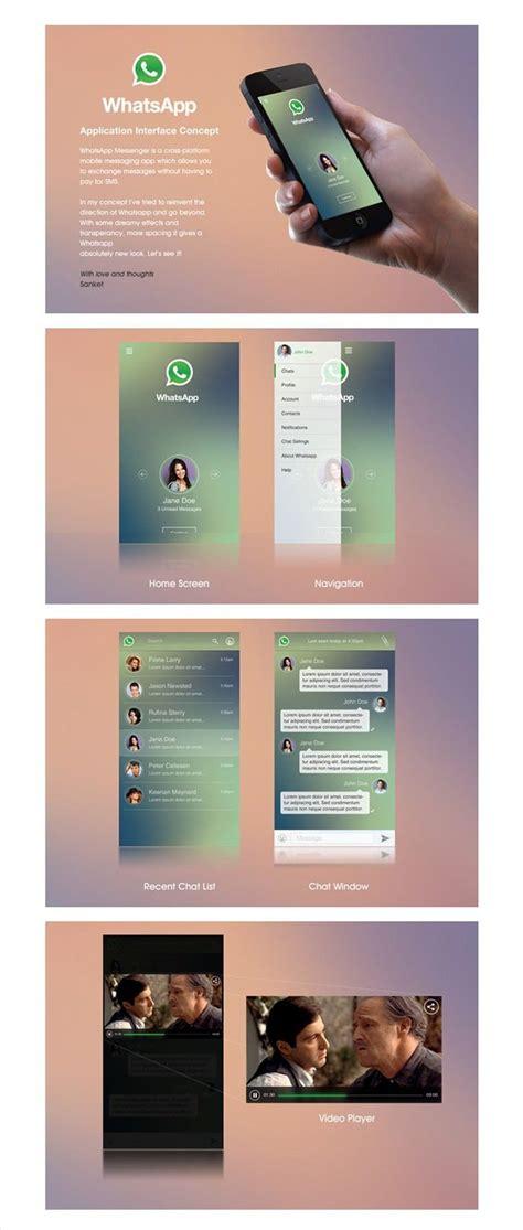 whatsapp app template   psd ai format