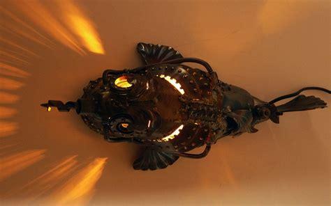 grouper steampunk fish submarines punk