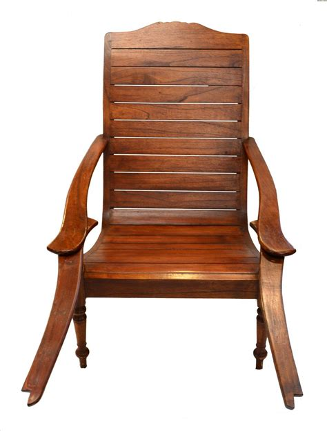 plantation chair with swivel out footrests for sale at 1stdibs
