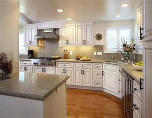decorating with white kitchen cabinets designwallscom With kitchen designs with white cabinets