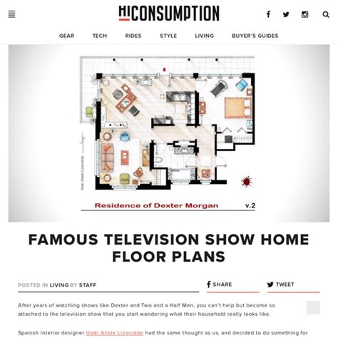 Floor Plans Of Homes From Tv Shows by Television Show Home Floor Plans Pearltrees