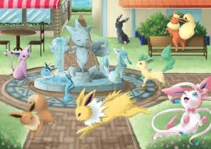 Eevee and Friends Pokemon X and Y