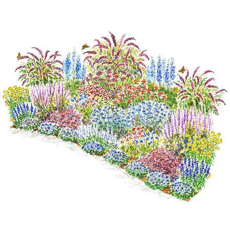 beautiful butterflies garden plan