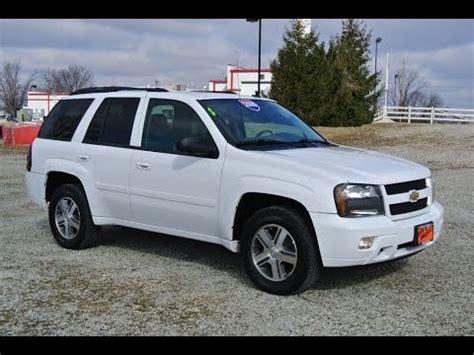 2009 Chevrolet TrailBlazer LT Summit White For Sale Dealer