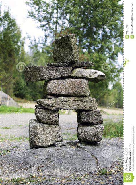 rock statues primitive stone statue stock photo image 36711780