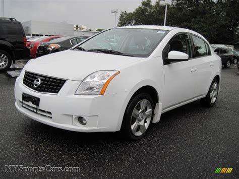 nissan 2008 white 2008 nissan sentra 2 0 s in fresh powder white 721148