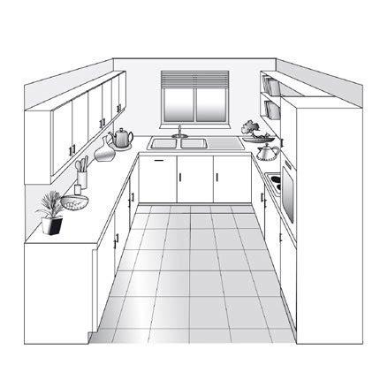 plan de cuisine les diff 233 rents types cuisine kitchens