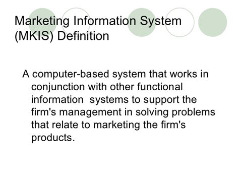Marketing Information by Marketing Information System