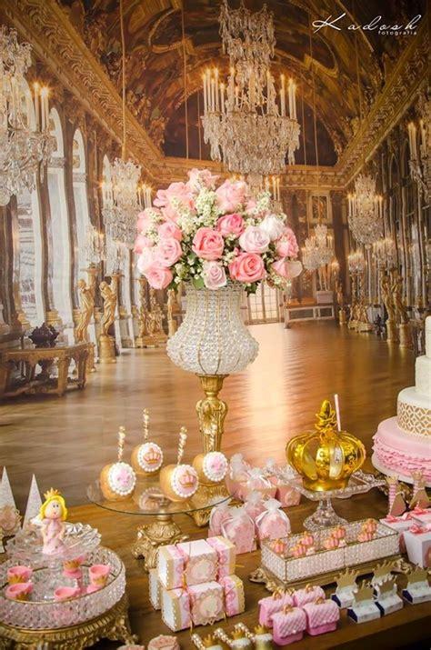 karas party ideas pink gold princess birthday party