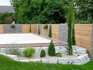 garten sichtschutz modern nowaday garden With garten planen mit balkon sichtschutz pvc befestigen