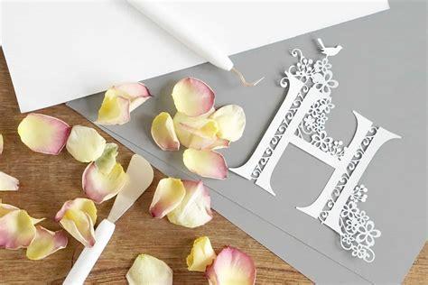 making simple  beautiful paper cuts  cricut maker