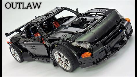 lego technic supercar crowkillers custom lego technic 2017 outlaw supercar preview