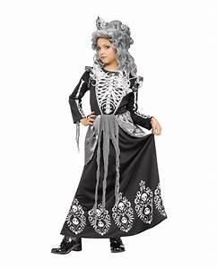 Gruselige Halloween Kostüme : s es skelett k nigin kinderkost m gruseliges faschingskost m f r m dchen karneval universe ~ Frokenaadalensverden.com Haus und Dekorationen